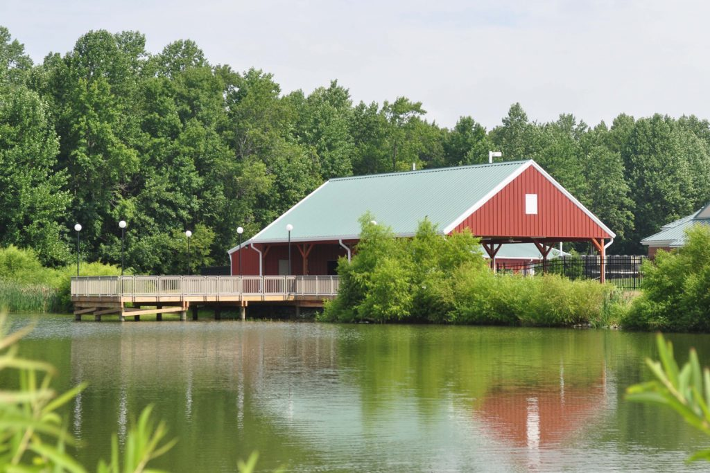 Photo of the Delaware Veterans Home pavilion